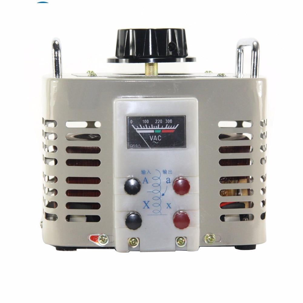 5KVA Voltage regulator household single phase variac 0