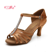 sasha authentic Women Ballroom Tango Salsa Latin Dance Shoes For Women Adults Ladies Dancing Shoes 307