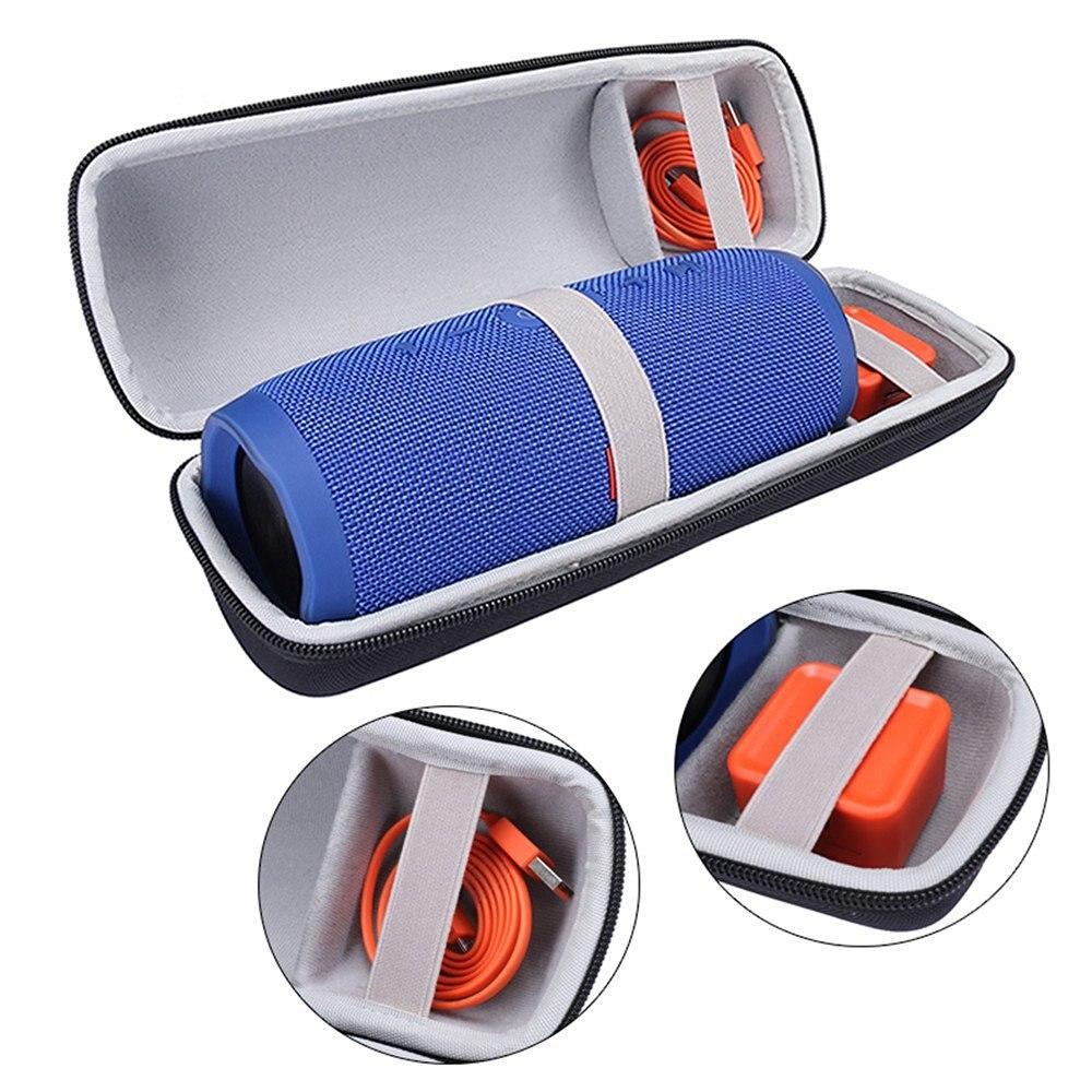 imágenes para 2017 nuevo top rusia viajes cubierta de carry case bolsa de transporte protectora para jbl charge3/carga 3 altavoz bluetooth (negro + Gris)
