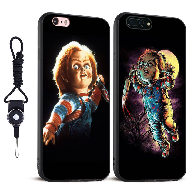 Chucky Child's Play horror Film TPU Soft Silicone Mobile