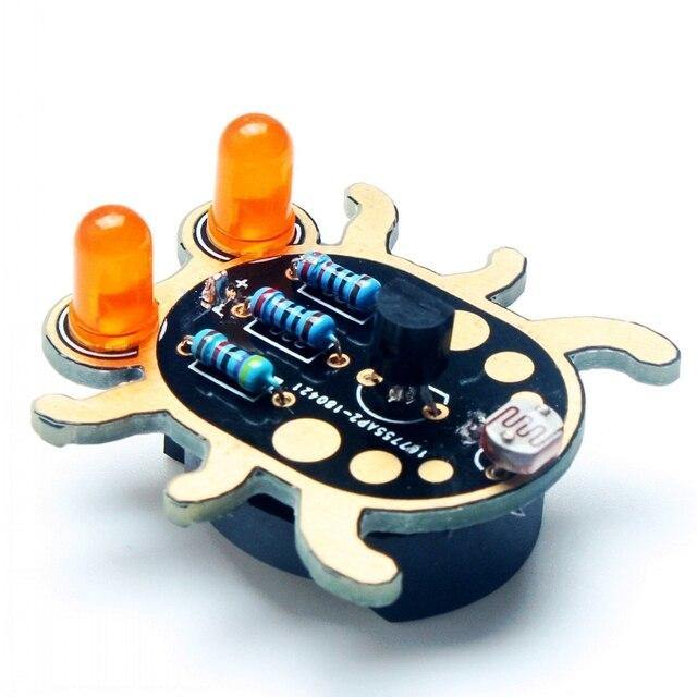 Beginner Learn to Solder Fun Kit: Weevil Eye