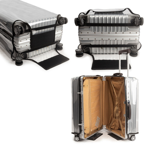 """Image 2 - Thicken PVC Luggage Cover Transparent Suitcase Covers with Zipper Free Dismantling Clear Luggage Protector Cover 22""""24""""26""""28""""30"""""""