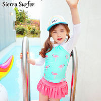 New Version Of Korean Swimsuit Children S Split Swimsuit Baby Princess Dress Girls Swimming Suits