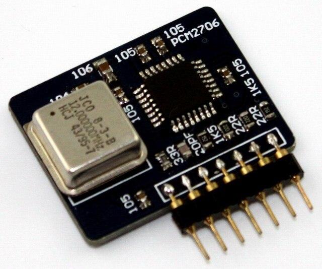 Бесплатная Доставка PCM2706 дочь карты для AK4118 AK4118 + PCM1794 + PCM4490 AK4118 + PCM4495 ЦАП плата декодера, и т. д.