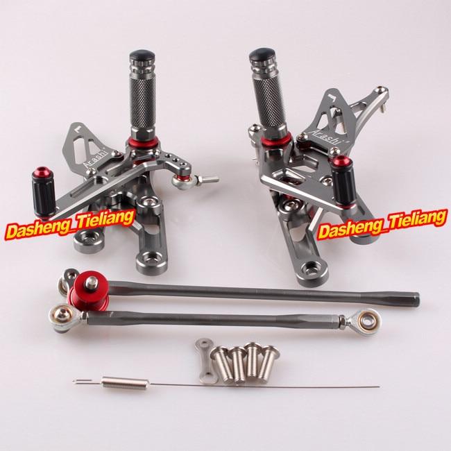 CNC Adjustable Rearset Rear Set Footpegs For Honda CBR 1000 RR 2004 2005 2006 2007 CBR600RR