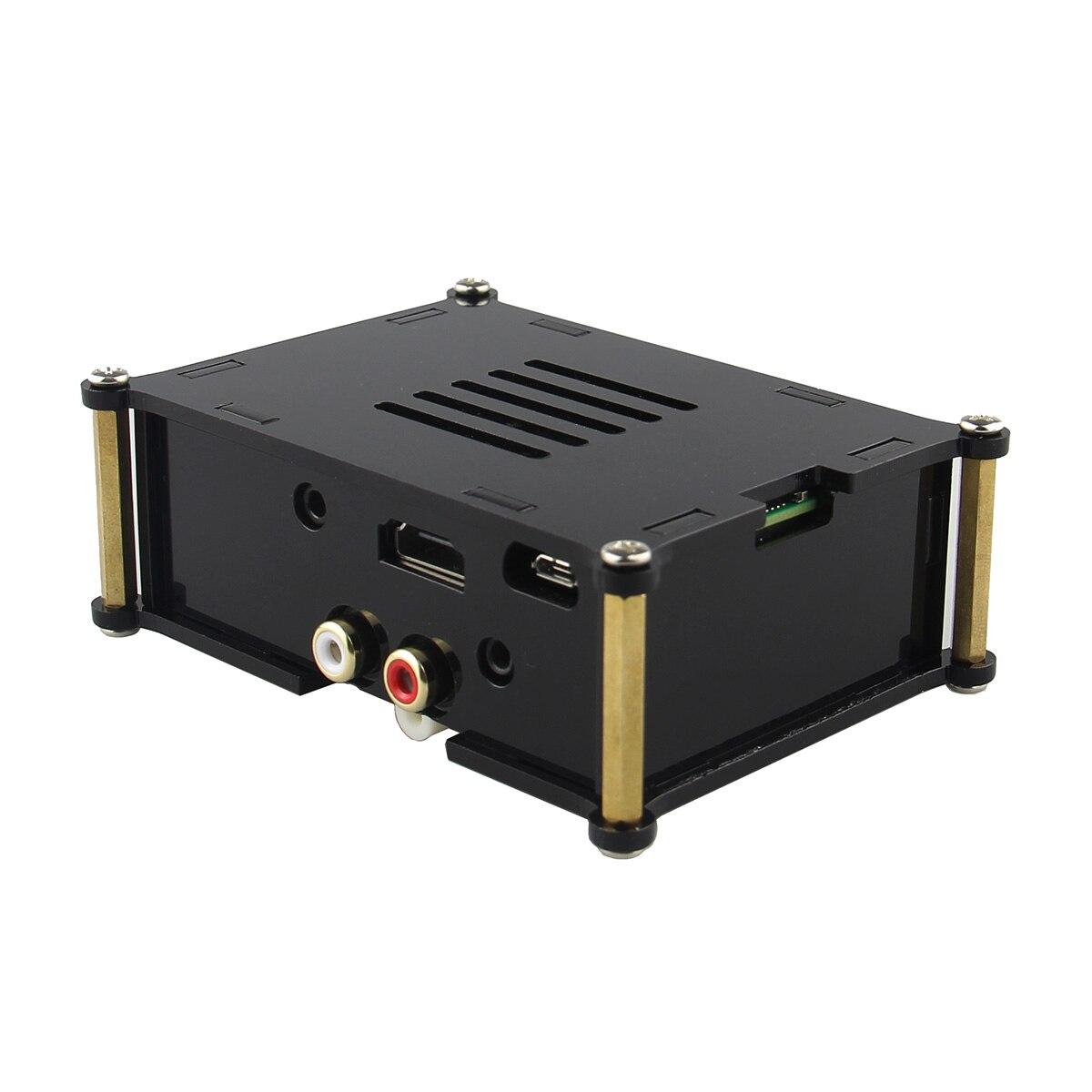 Leory PiFi Pin do Cartão de Áudio Digital De ALTA FIDELIDADE DAC board Com Caso 2 Volumio sistema Para Raspberry Pi Modelo B/ B +/A +