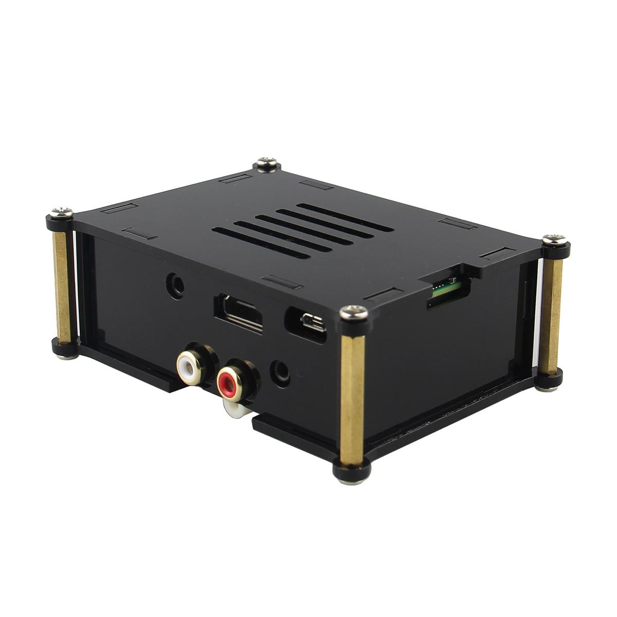 Leory PiFi HIFI numérique Audio carte DAC carte Pin board avec boitier système Volumio pour Raspberry Pi 2 modèle B/B +/A +