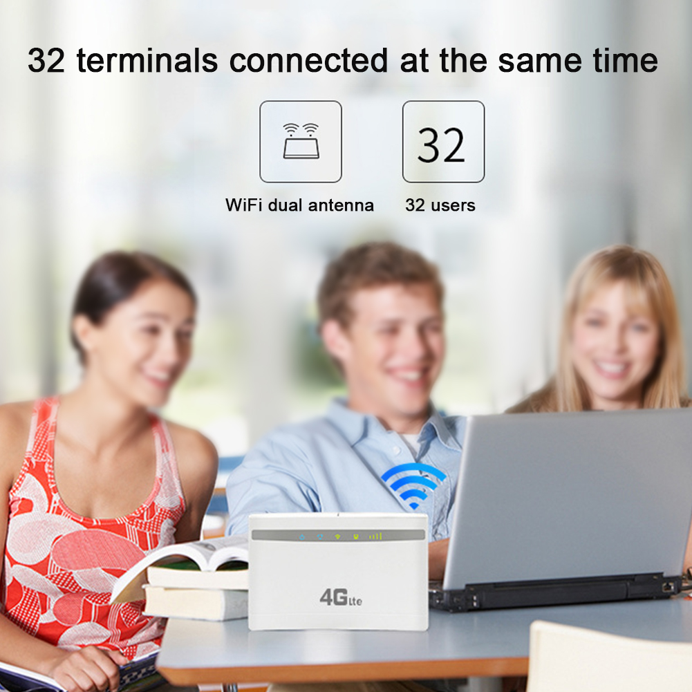 3g 4g Office School Stable Easy Use Universal Computer Accessories Wireless Router Home WIFI Sharing Network High Speed 300Mbps