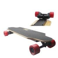 Electric Skateboard 4 Wheel Double Motor Remote Control Adult Scooter Wood Longboard Skate Board Hoverboard 1600W 40Km/h