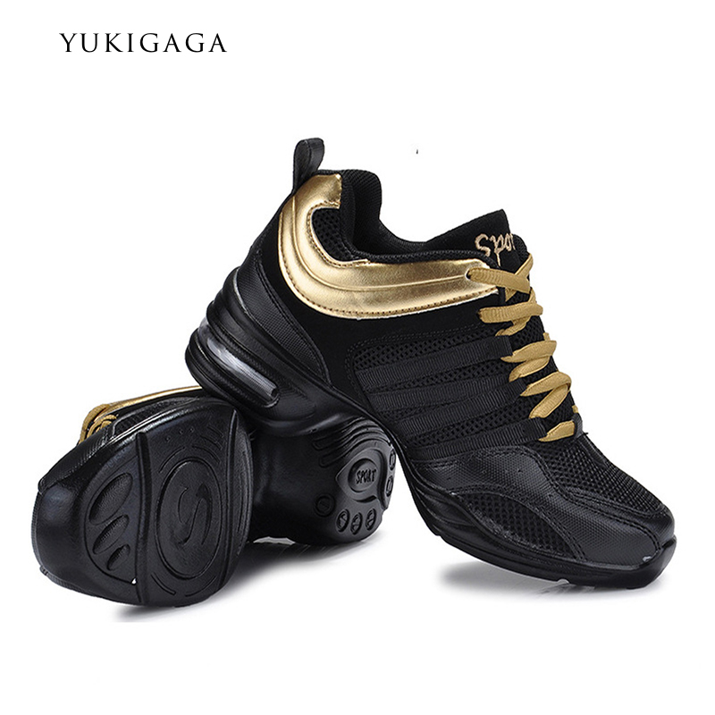 2019 Dance Sneakers For Adults And Children Modern Practice Dance Shoes Girls Flexible Jazz Hip Hop Shoes Fitness