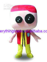 Venda quente 2017 Personagem Adulto adorável cabeça grande da boneca Dos  Desenhos Animados Do Traje Da Mascote do vestido extrav. f35ae33f13f