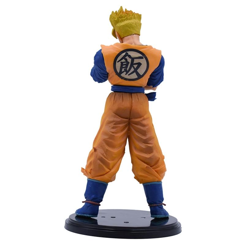 19cm Dragon Ball Z Goku Super SaiYan Awakening Gohan Goku Action Figure PVC Anime Figure Hot Toys For Kids DBZ Collection Model in Action Toy Figures from Toys Hobbies