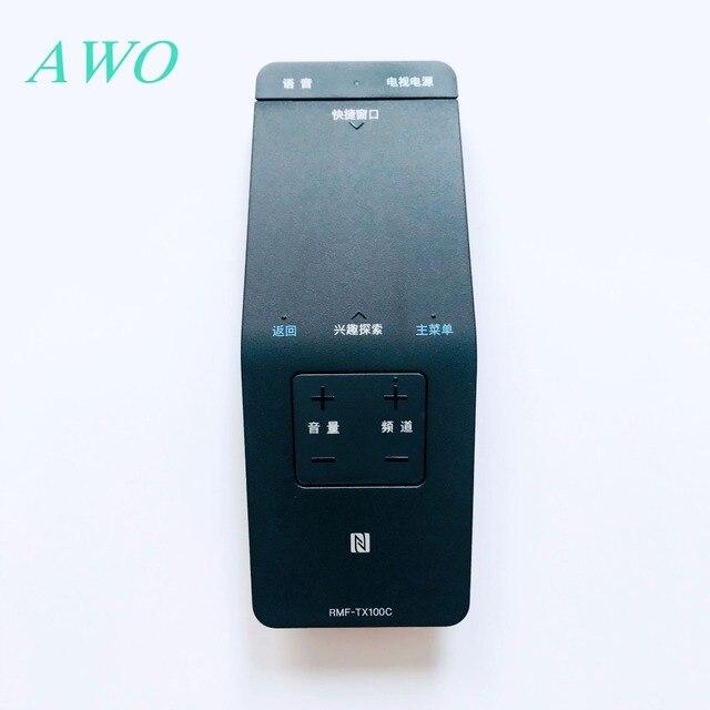 الأصلي صوت التحكم عن بعد التلفزيون RMF TX100c لسوني RMF TX100 RMF TX100E KDL 55W805C KDL 55W755C KDL 50W805C 50W755C