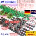 3 sets Vierkante Lineaire gids sets L-400/700/1000mm & 3 pcs Kogelomloopspil 1605 400/700 /1000mm met Moer & 3 set BK/B12 & Koppeling voor CNC