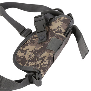 Image 5 - 2019 Hunting Accessories universal Two pcs hidden Pistol Gun holster with MAG POUCH Tactical Double Shoulder Armpit Holster