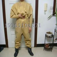 Waders Whole Dry Rubber Latex Clothing Water Wetsuit Wetsuit Yellow Piece Band Wove Body Water Shoes