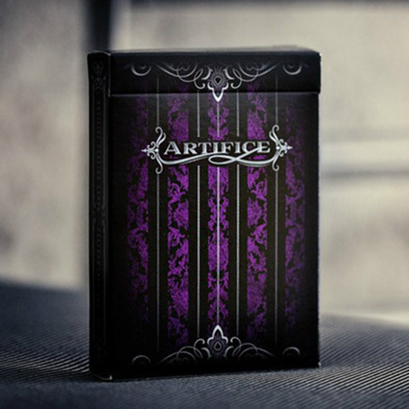 Violet Artifice Pont Ellusionist Cartes À Jouer de Poker Original Cartes pour Magicien Collection Jeu De Cartes