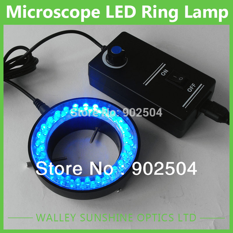 ФОТО New Arrival  60-LED Microscope Adjustable Ring LED Round Light For Illuminator Lamp For STEREO Microscope Excellent Circle Light