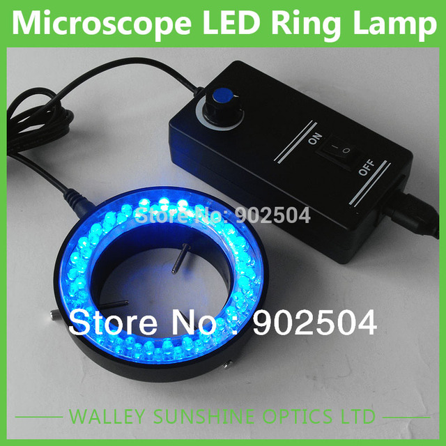 New Arrival  60-LED Microscope Adjustable Ring LED Round Light For Illuminator Lamp For STEREO Microscope Excellent Circle Light