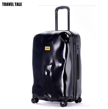 Opowieść podróży ABS 20 #8222 24 #8221 28 toczenia walizki na bagaż wózek 20 cal podróży walizki na kółkach tanie i dobre opinie Spinner Rolling przechowalnia Unisex 33-46cm 2 8-4kg 20-29cm travel tale 54-74cm