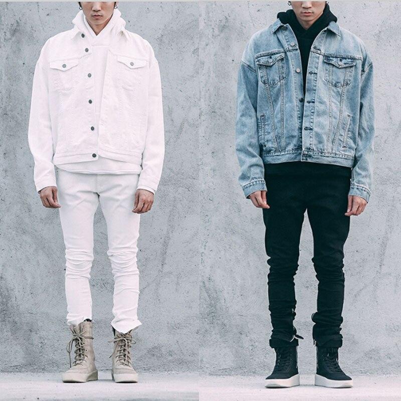 Online Get Cheap White Denim Jacket Men -Aliexpress.com | Alibaba ...