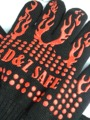 Morewin custom high temperature resistant oven gloves aramid heat resistant gloves