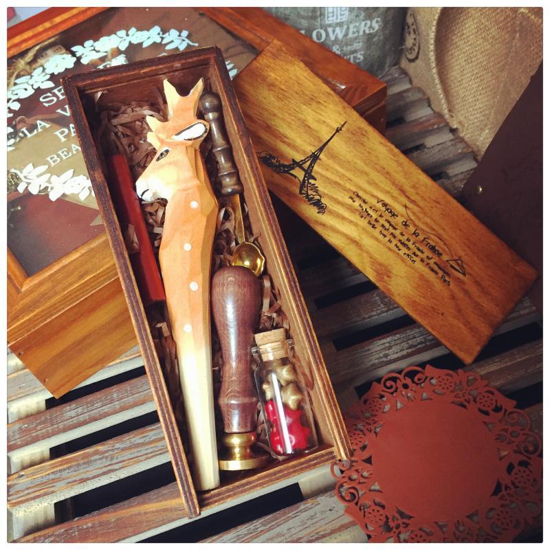 Kreative wachs umschlag set literarischen romantische geschenk geständnis artefakt. das neue jahr hochzeitsgeschenk