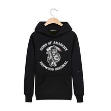 Neue Marke Sweatshirt Männer Hoodies Mode Sons of Anarchy Hoodie Herren Sportswear Anzug Pullover männer Trainingsanzüge Moleton Masculino