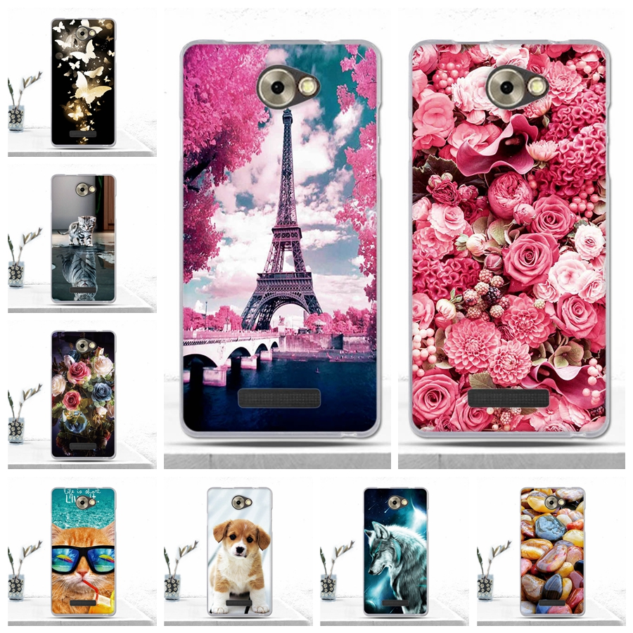 Case For BQ BQS-5070 Magic Phone Back Cover Cute Cartoon Luxury Silicone Soft Cover For BQ BQS 5070 BQS5070 Magic Case Coque Bag