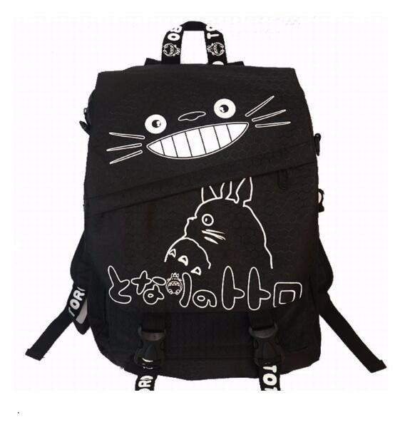Hayao miyazaki totoro saco anime mochila sacos