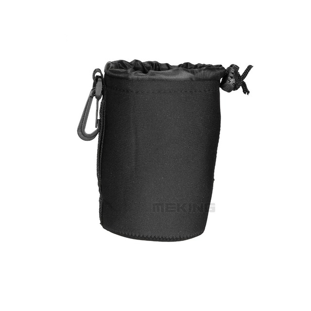 1pc 10*14cm Neoprene Soft bag Camera Lens Pouch Case protect bags Height:10cm Diameter: 8cm Thickness:3mm