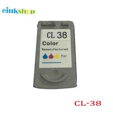 1PK Colour Ink Cartridge Remanufactured for Canon CL-38 CL38 Pixma iP1800 iP1900 iP2600 MP140 MP190 MP210 MP220 MX300 MX310 1pcs tri color ink cartridge for canon cl 31 cl31 cl 31 for canon pixma mp140 mp210 mp470 ip1800 ip2600 mx300 mx310 printer