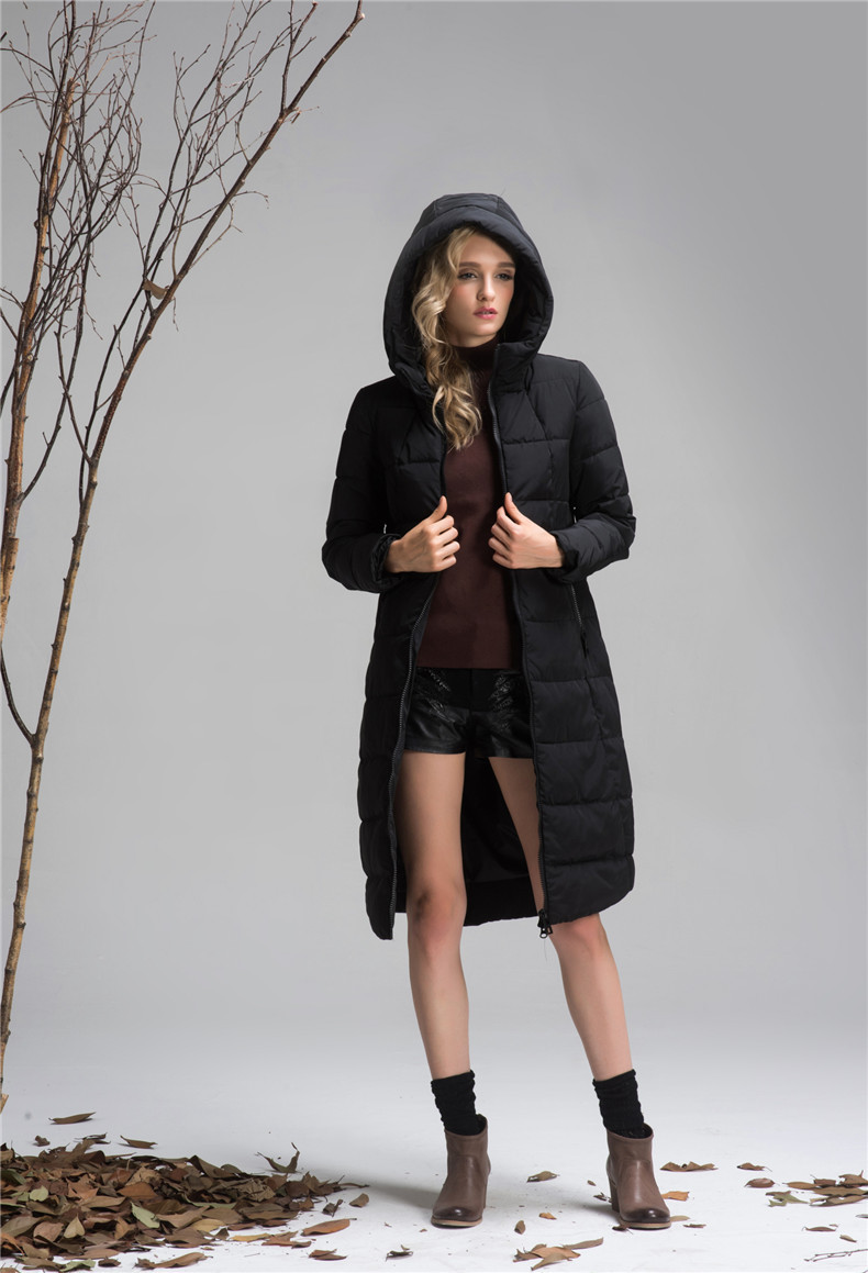 XY6 Women Cotton Long Sleeves Coat L-7XL Warm Plus Size Parka Jacket with Hat Thick 2017 Winter A line Black Long Overcoat 2pcs set stainless steel 90 degree self closing cabinet closet door hinges home roomfurniture hardware accessories supply