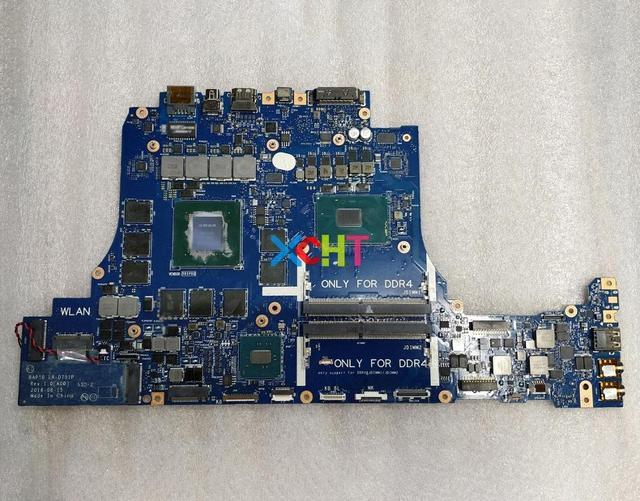 עבור Dell Alienware 17 R4 CN 0VWNM2 0VWNM2 VWNM2 BAP10 LA D751P i7 6700HQ מעבד GTX1070M GPU מחשב נייד האם נבדק
