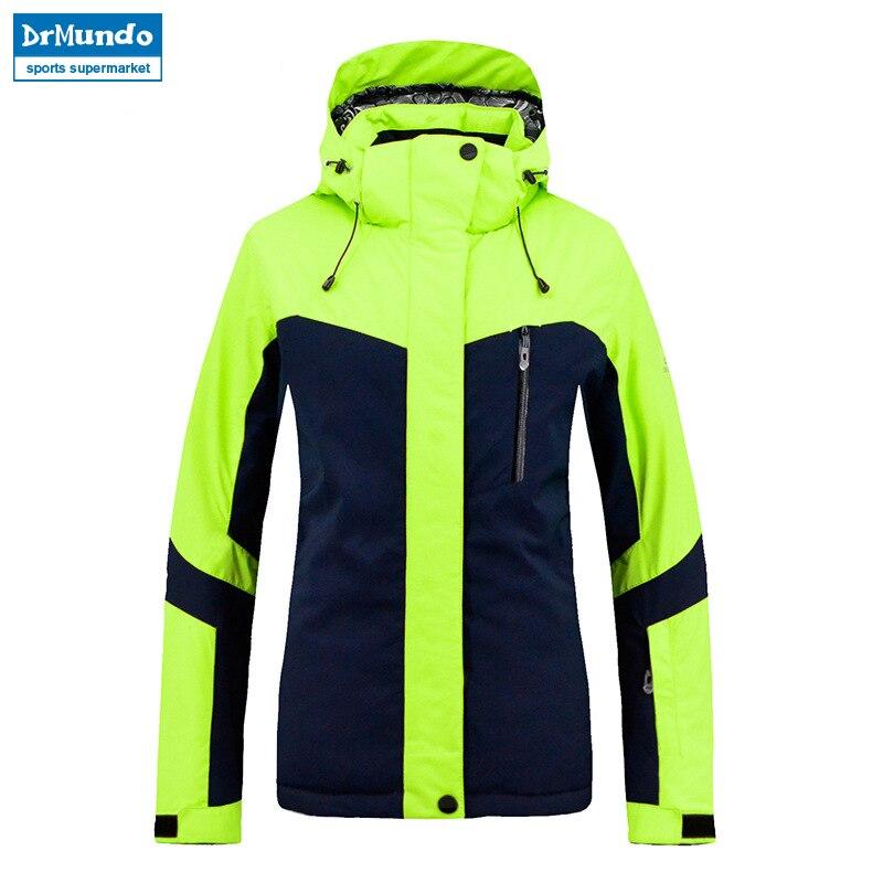 2018 nouvelle marque hiver chaud veste de Ski manteau de neige pour les femmes 2 couleurs taille s-xxl imperméable hiver Snowboard veste femmes - 2