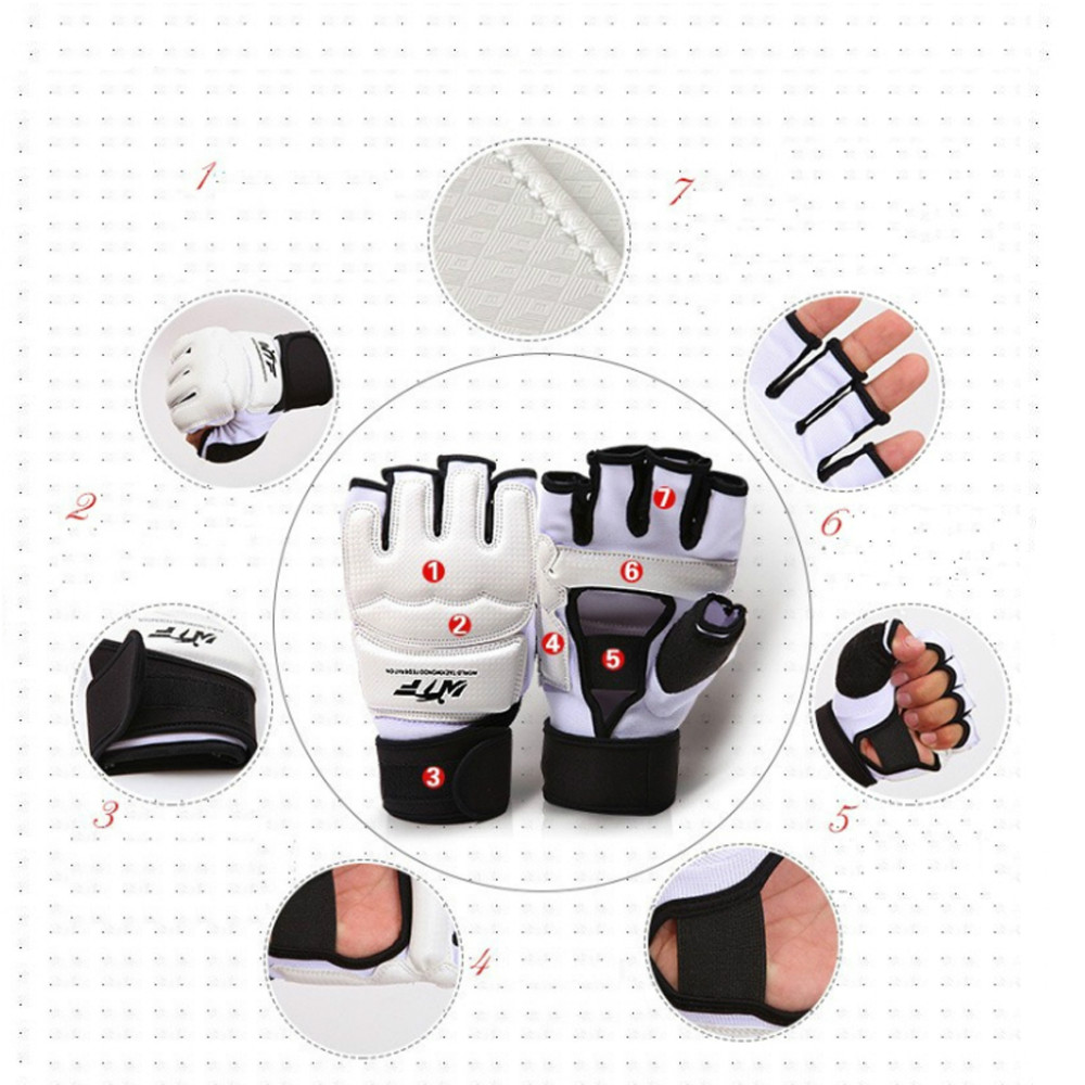 Taekwondo & Karate Glove WTF approved plam hand protector taekwondo Gloves Martial Arts Sports Hand Guard Boxing Protective Tool wtf taekwondo sparring gear protectors guards complete one set helmet chest arm shin groin guard jockstrap protector
