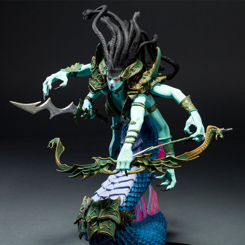 WOW World of The Naga Sea Witch Queen Snake Lady Medusa Toy Figure Doll the wangs vs the world