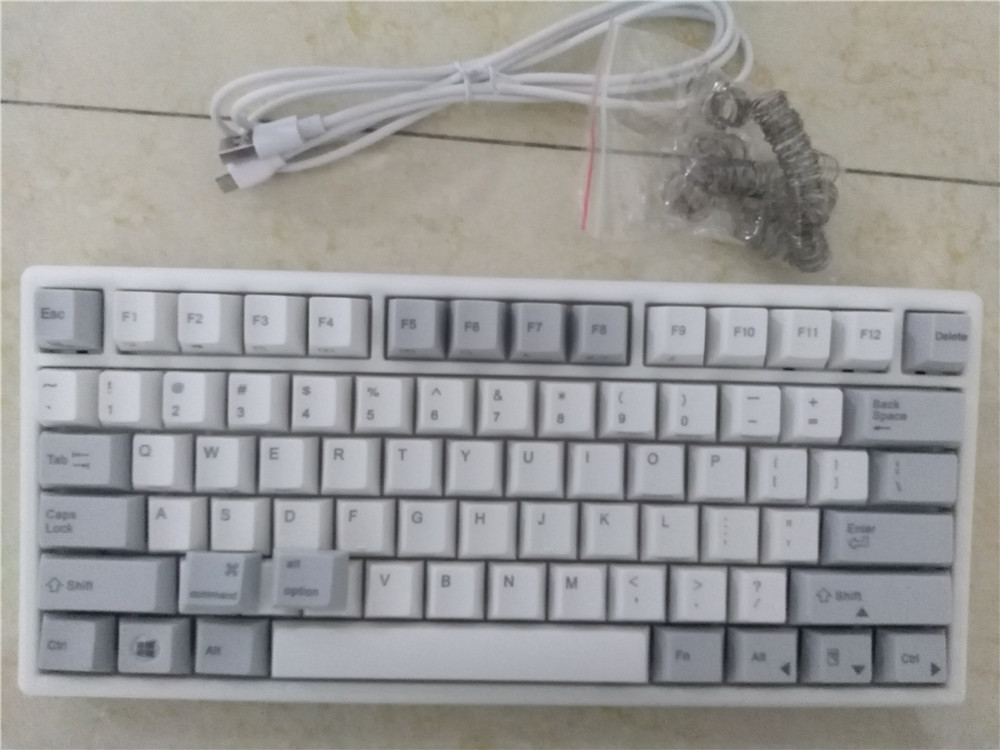 White Plum nano75  45g electrostatic capacitive  program mechanical keyboard PBT top print nano programmable mini game keyboard мастурбатор nano toys nano