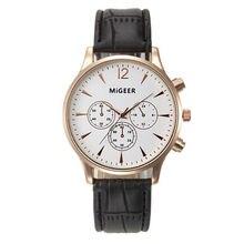 Top Brand Мужские Часы Relojes Mujer 2016 Роскошный Бизнес Наручные Часы Женщины Кожа Кварцевые Спортивные Часы Мужские Часы Часы Relogio