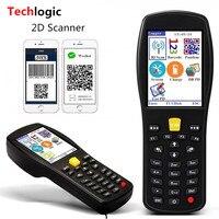 Techlogic X9 2D QR PDF417 Datametrix 2D Беспроводной сканера штриховых кодов рукоять терминал КПК QR код читателя сканер штрих кода