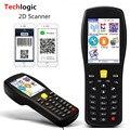 Techlogic X9 2D QR PDF417 Datametrix 2D Inventário Pega Terminal PDA Scanner de código de Barras Sem Fio Leitor de Código QR Scanner de código de Barras