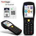 Techlogic X9 2D QR PDF417 Datametrix 2D Wireless Barcode Scanner Handhold Terminal PDA QR Code Reader Inventory Barcode Scanner