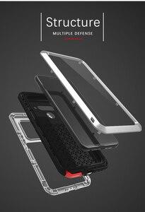 Image 3 - ل LG V50 الحب مي العلامة التجارية حقيبة لجهاز LG V50 ThinQ مكافحة طرقت معدن الألومنيوم وعرة مع شحن المقسى طبقة غوريلا جلاس حالة غطاء