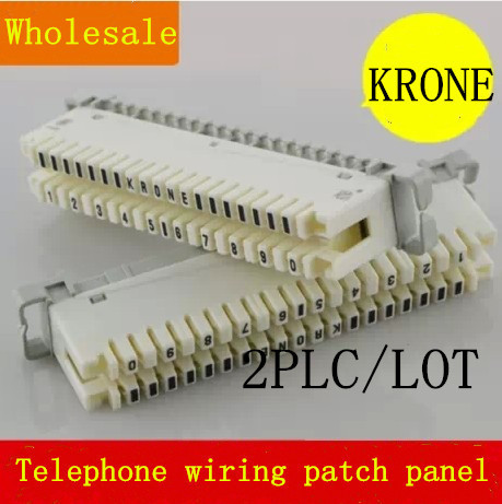 copper krone telephone wiring patch panel group telephone phone of Telephone Wiring Board copper krone telephone wiring patch panel group telephone phone of the rj11 module free shipping,