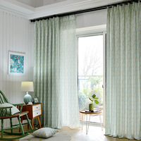 American Pastoral Country Window Shade Curtains For Living Dining Room Bedroom
