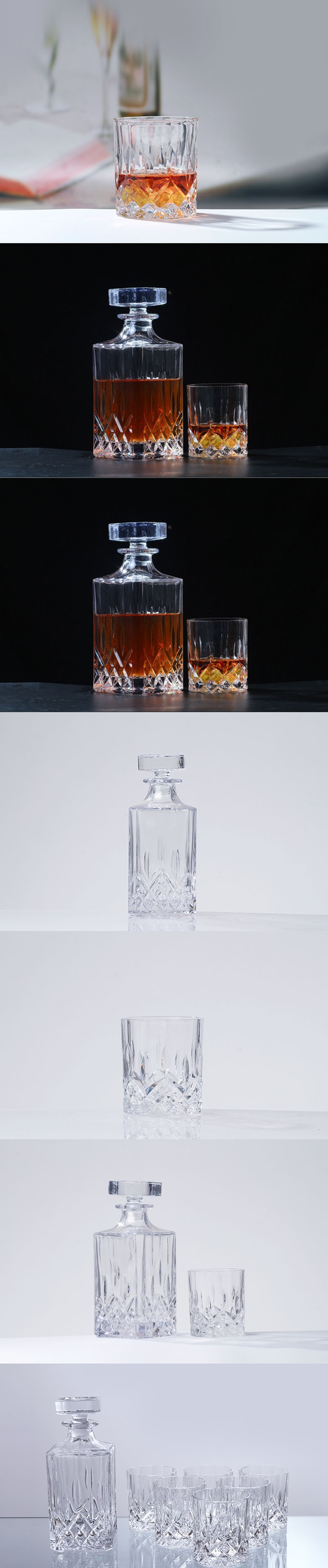whisky set display
