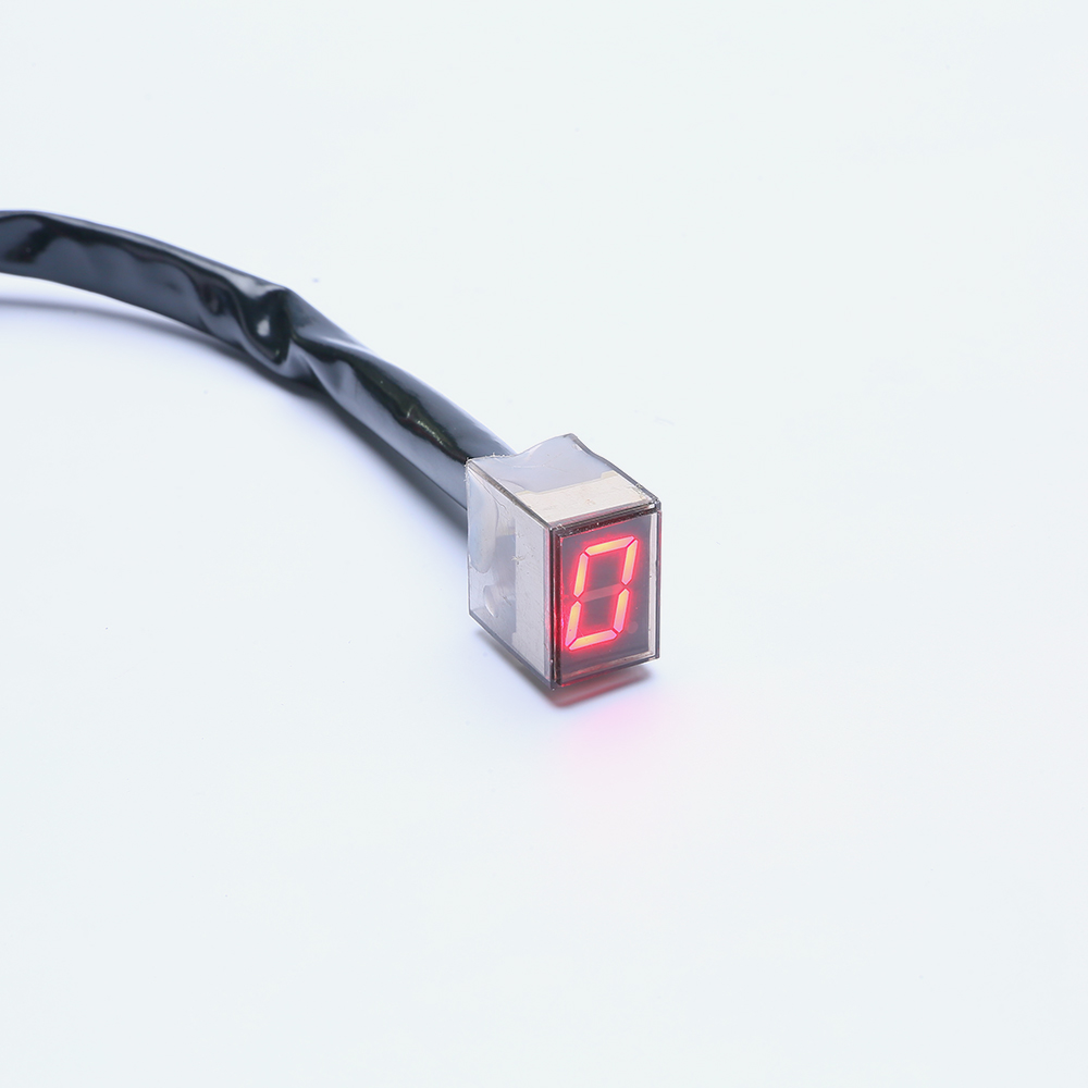 Hot Super Speed LED Lampă roșie Universal Digital Neutral - Accesorii si piese pentru motociclete