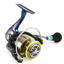 Hot Sale!!2016 New Soloplay Chameleon Series 11+1 one-way clucth Spinning reel fishing reel KS1000-KS4000 5.2:1