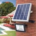 HOOREE 20 LED Solar Licht Wasserdichte IP65 mit Fernbedienung Solar Flutlicht Aluminium Outdoor Garten Garage Led Solar Lampe