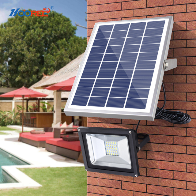 Hooree 20 Led Solar Light Waterproof Ip65 With Remote Control Solar